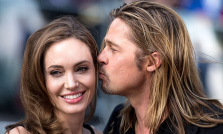 Angelina Jolie and Brad Pitt in 2013. Jolie has reportedly filed for divorce after two years of marriage and 12 years together.