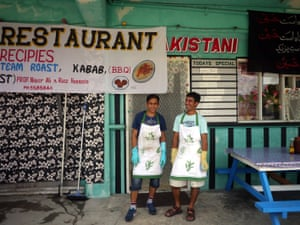 This Pakistani restaurant was opened by two refugee friends Riaz Hussain and Nisar Ali in early November 2014