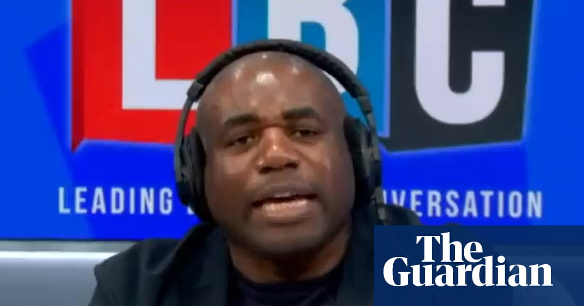 David Lammy praised for response to LBC caller who said he was 'not English'
