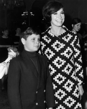 Pictured with her son, Richard Meeker, who died in 1980