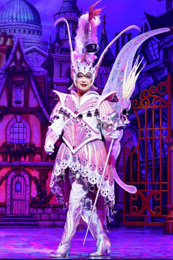 Julian Clary is among the cast for Pantoland at the Palladium.
