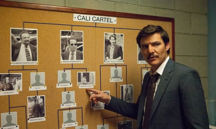 Pedro Pascal in Netflix's Narcos.