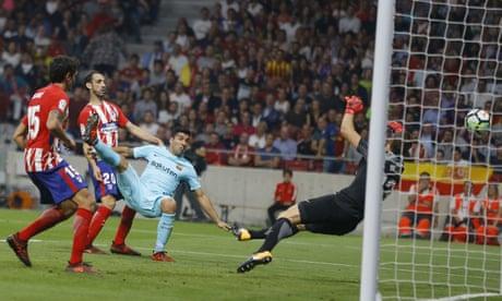Luis Suárez earns a point but Barcelona's winning start ends at Atlético