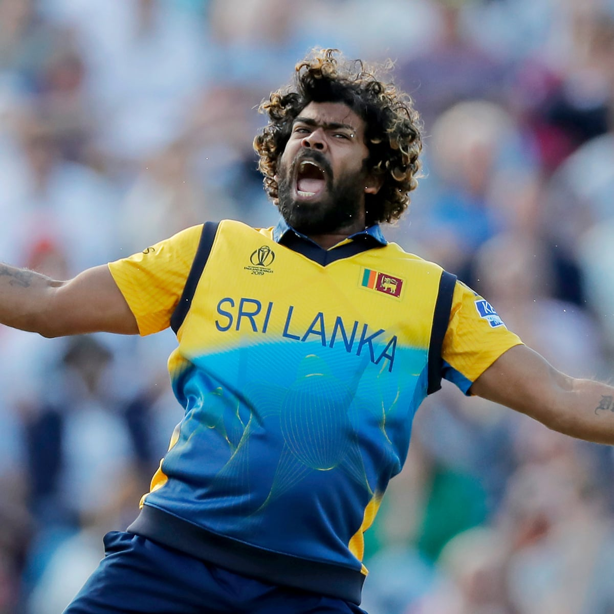 Lasith Malinga proves he is still Sri Lanka's master of the round-arm fling | Cricket World Cup 2019 | The Guardian