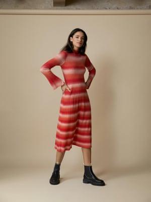 Striped, £165, Kitri X Jessie Bush at kitristudio.com
