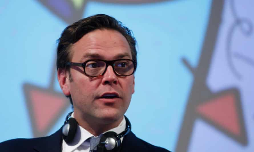 James Murdoch, pictured in 2015. His resignation severs his final formal link to the media empire his father, Rupert, created.