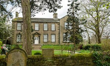 The Brontë Parsonage at Haworth in West Yorkshire.