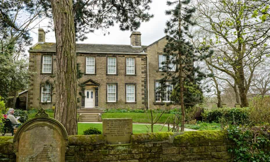 The Brontë Parsonage at Haworth in West Yorkshire.