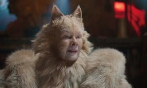 Judi Dench in the film version of Cats.