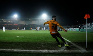 Middlesbrough struggled in muddy and wet conditions at Rodney Parade in the fourth round.