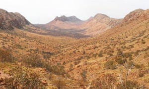 Larapinta Trail, an extended walking track in the Northern Territory, Australia. It's 223km long, with the eastern end at Alice Springs.