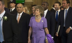 Kate Hoey at the state opening of parliament in May.