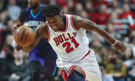 Jimmy Butler essentially was the Chicago Bulls offense in their 118-113 win over the Charlotte Hornets.