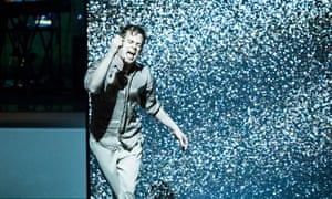 Oh you pretty thing … Michael C Hall in Lazarus.