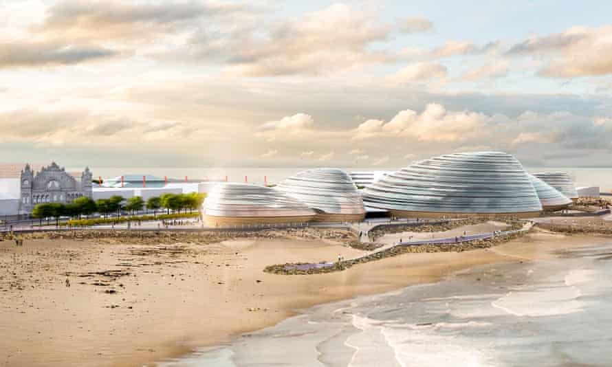 Architect's illustration of the £85m Eden Project North 1.