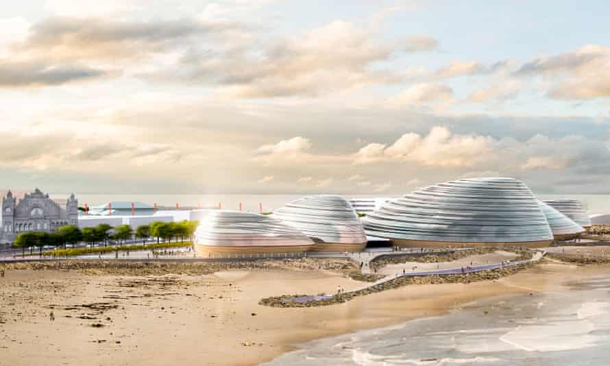 An artist's impression of how the Eden Project North might look.