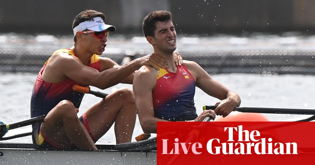 Tokio 2020 Olympics day six: golf, natación, rowing and more – live!