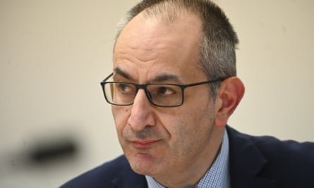 Secretary of the Department of Home Affairs, Mike Pezzullo,