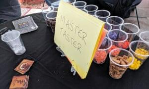 Master Taster - game - from Jenn Sandercock (game designer)