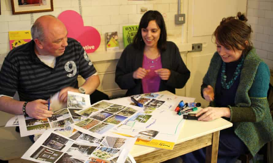 Homebaked 'build your own high street' workshop