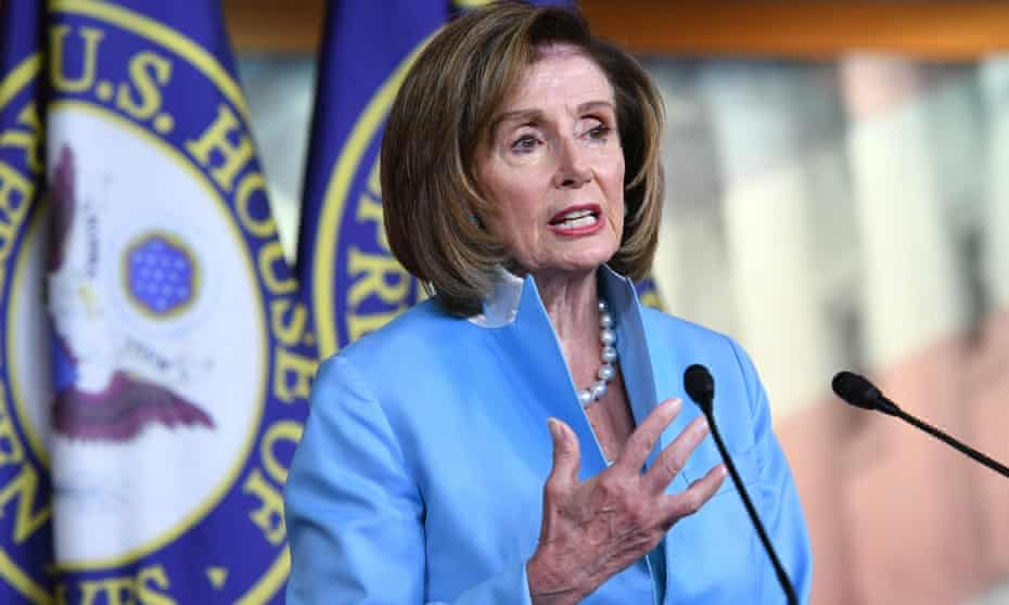 Nancy Pelosi has promised that the House will not take up the bipartisan infrastructure bill until the Senate first passes the reconciliation bill.