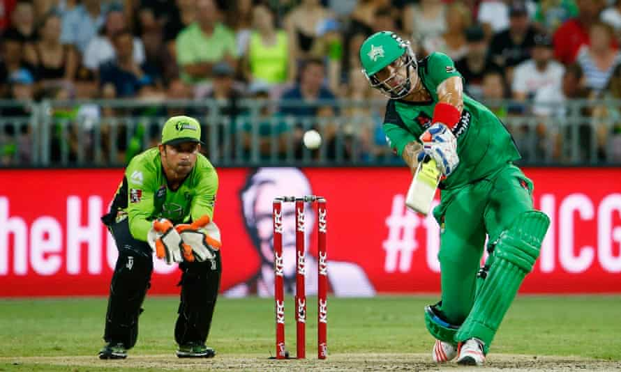 Kevin Pietersen now spends his career travelling the globe playing in various T20 leagues, including the Melbourne Stars in the Big Bash.