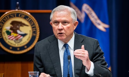Jeff Sessions speaks at Department of Justice