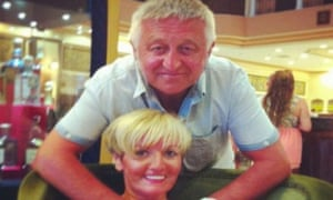 Elizabeth Smith with her husband David