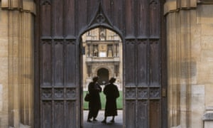 Wadham College, Oxford. Some questions are deceptively simple ways of exploring a candidate's knowledge.
