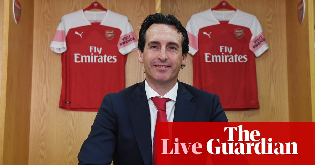 Unai Emery unveiled by Arsenal and thanks Wenger for  legacy  – as it  happened 31ac25536