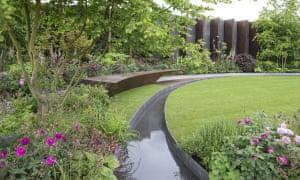 The Chelsea Barracks Garden, designed by Jo Thompson
