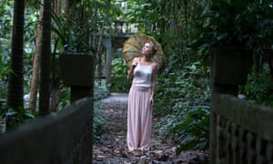 A still from the Australian feature film Celeste starring Radha Mitchell.