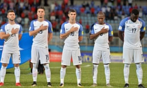 Christian Pulisic (centre) must wait for an opportunity to appear at a World Cup