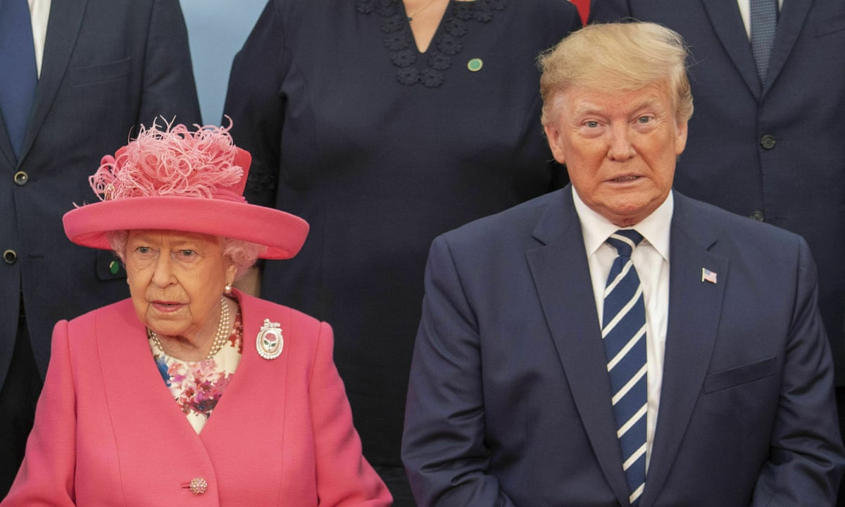 Trump on UK visit: 'People had never seen the Queen have a better time'