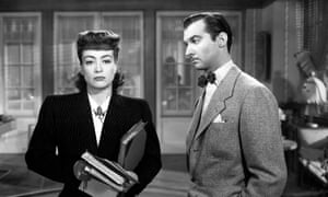 Joan Crawford and Zachary Scott in Mildred Pearce, 1945.