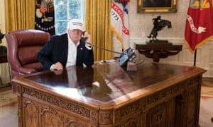 A far from cluttered mind? The meaning of Donald Trump's empty desk
