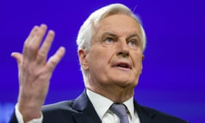Michel Barnier, the European Commission's lead negotiator on Brexit, has increased the pressure on Britain.