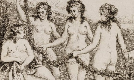Detail from illustration in Harris's Lists of Covent-Garden Ladies, held in the British Library 'Private Case' collection.