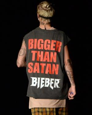 Loud and proud: Bieber in concert in 2016