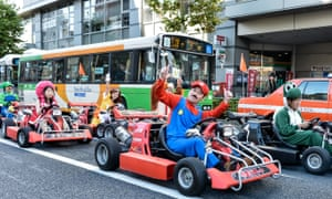 Why play a video game when you can drive Tokyo in a Super