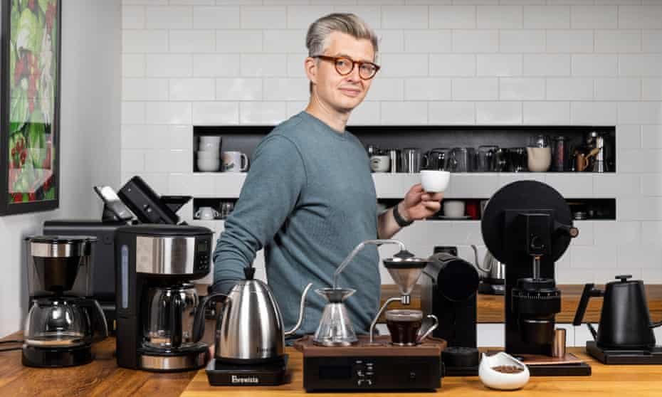 Coffee expert James Hoffmann, 41, from London.