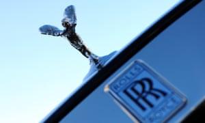 A Rolls-Royce car marque
