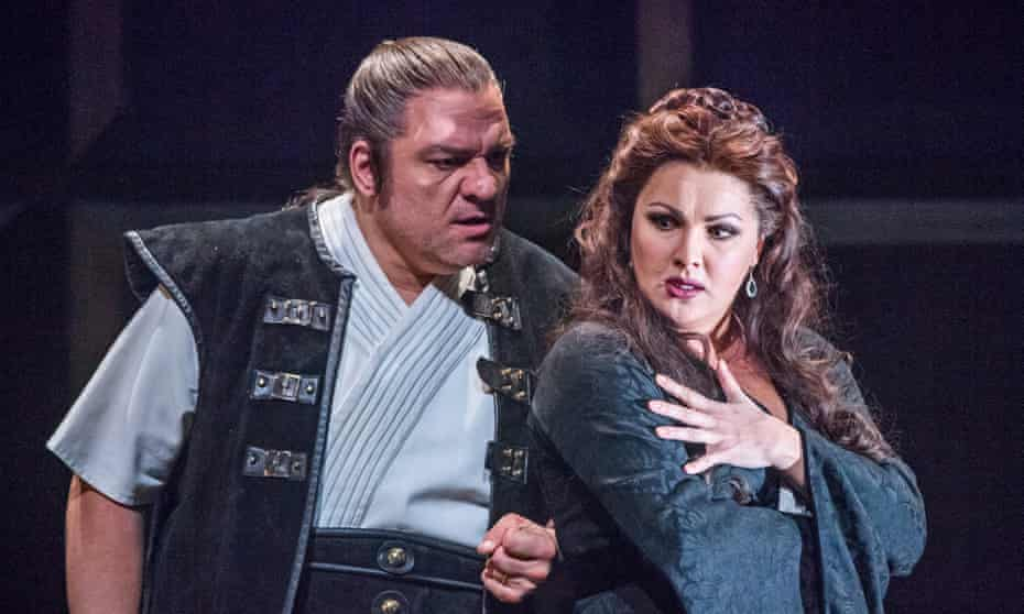 Too many notes? Zeljko Lucic and Anna Netrebko in Verdi's Macbeth by Verdi at the £24m-funded Royal Opera House.