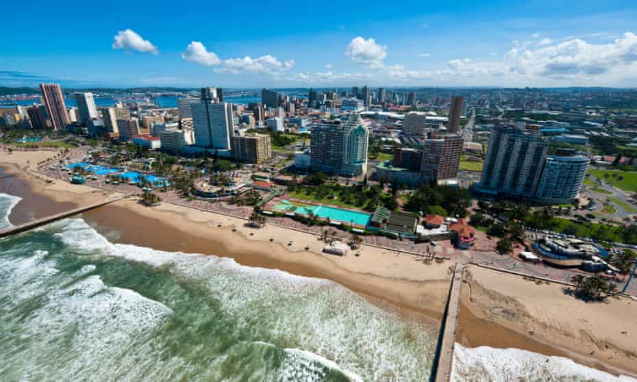 Durban's beachfront is arguably South Africa's most inclusive public space.