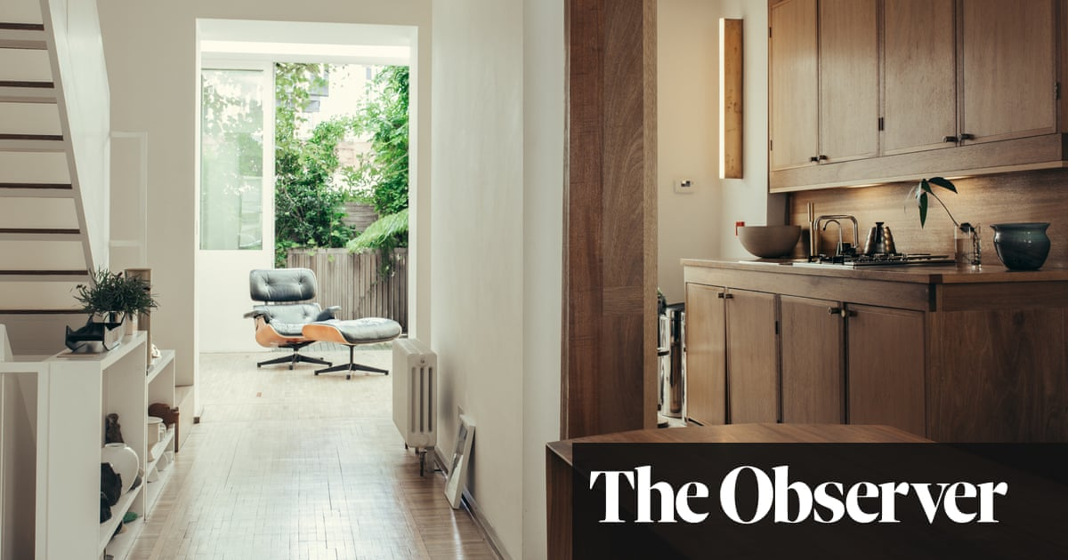 Inside a designer's Waterloo home – a minimalist's dream | Life and style | The Guardian