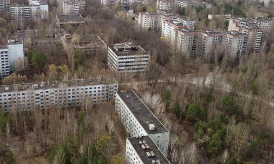 The abandoned city of Pripyat near the Chernobyl nuclear power plant, Ukraine.