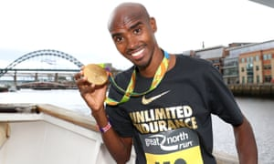 Olympian Mo Farah in Newcastle for the Great North Run last month. Would a fledgling Mo Farah today have the same chances?