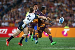 Anthony Milford, playing the role of tormentor-in-chief.