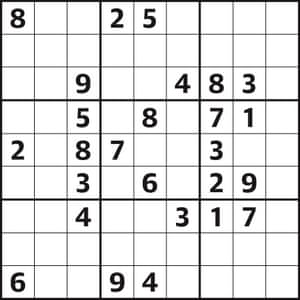 Sudoku 4040 hard | Life and style | The Guardian