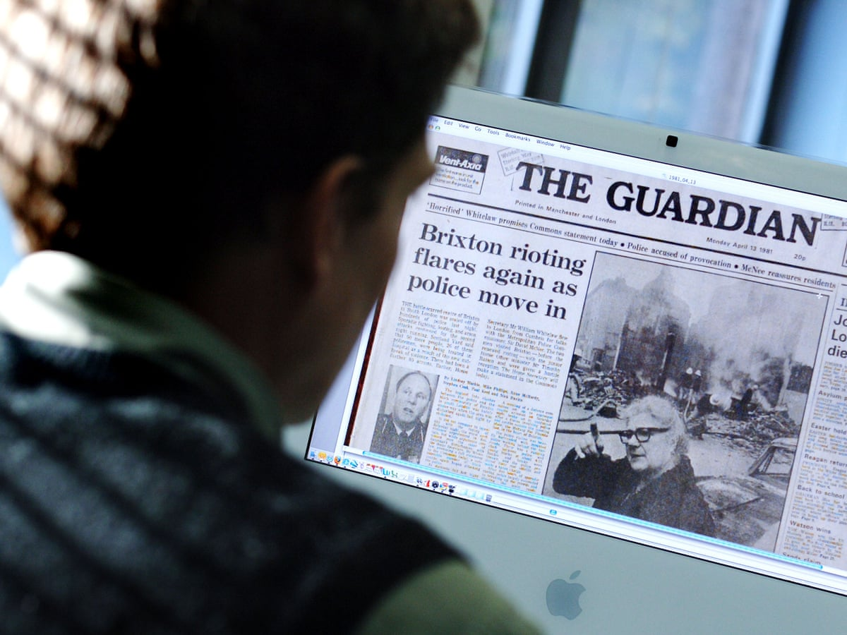How to access past articles from the Guardian and Observer archive ...